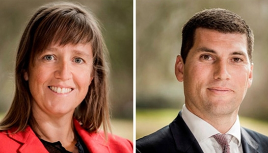 Royal HaskoningDHV hires Cindy Meervis and Niels Schallenberg